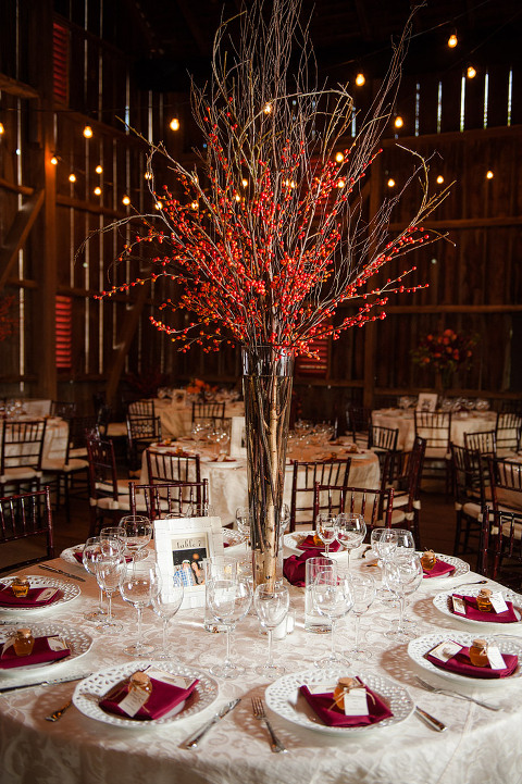 Barn-Wedding-Leesburg-Virginia-Tall-Centerpieces
