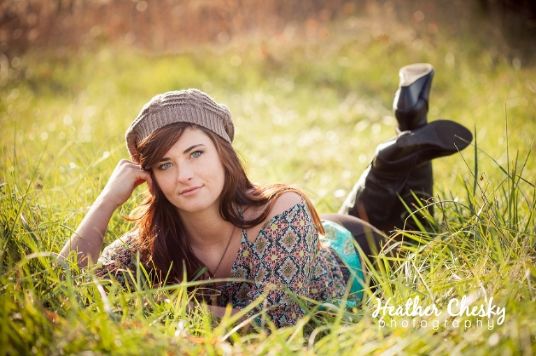 Senior Photos at 48 Fields in Leesburg VA   Heather Chesky Photography
