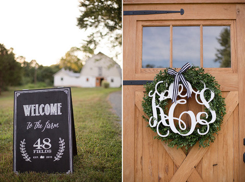 A Romantic Candlelit Wedding Anniversary Party at 48 Fields in Leesburg VA