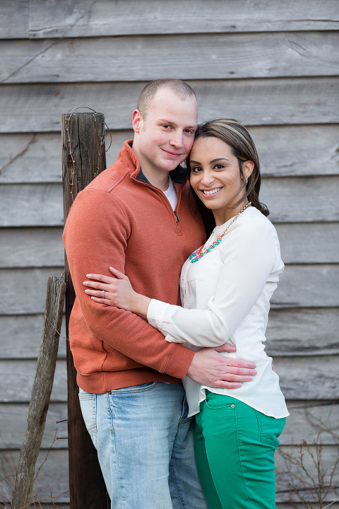 Engagement Photos at Leesburg VA Barn - Marshell and Josh   Candice Adelle Photography