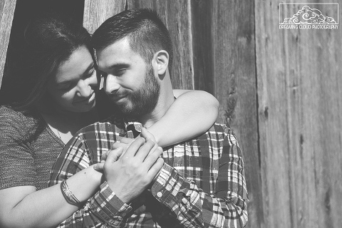Leesburg VA Engagement Photos at 48 Fields Farm - Ashley and Tim | Dreaming Cloud Photography