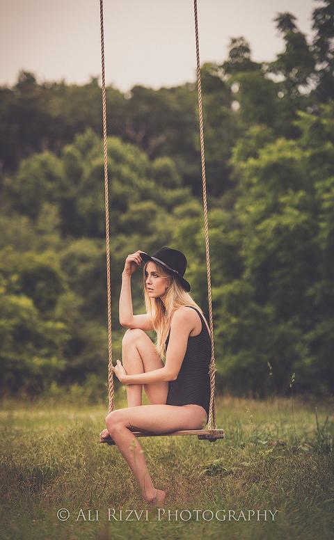Fashion Model Photo Shoot at 48 Fields Farm in Leesburg VA | Ali Rizvi Photography