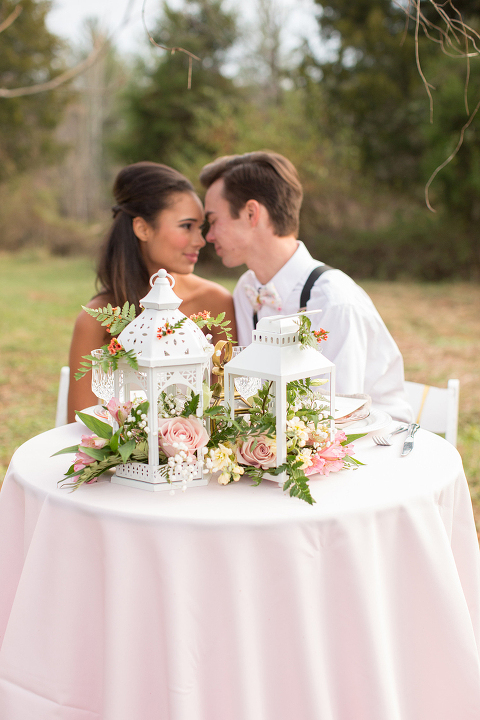 Romantic Southern Wedding Inspiration Style Shoot at 48 Fields Farm in Leesburg VA
