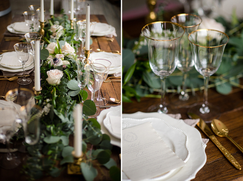 Romantic White and Greenery English Garden Wedding Style Shoot at 48 Fields in Leesburg VA   Kelly Ewell Photography