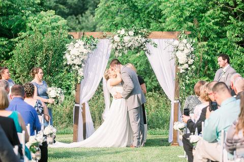Washington Capitals Wedding at 48 Fields Farm in Leesburg VA | Samantha and Kurt