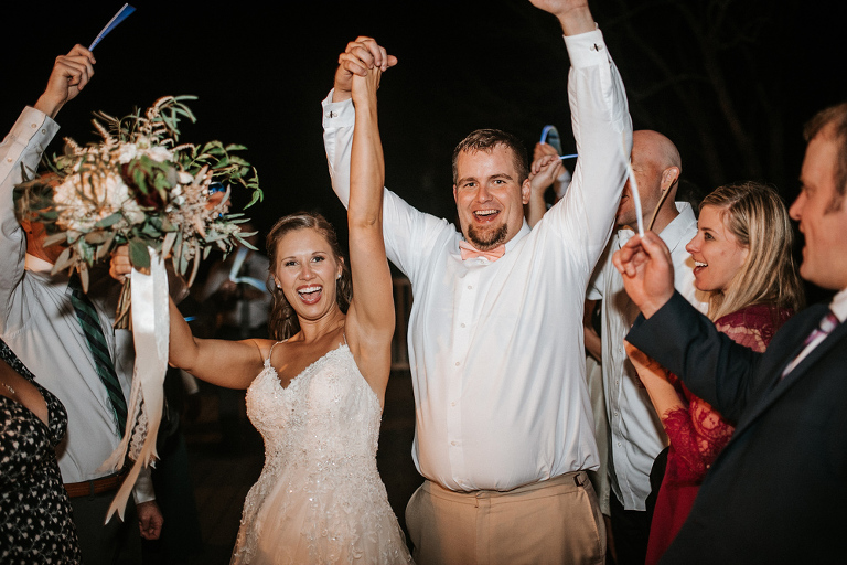 A Photo Gallery from Lindsey and Matthew's Fall Wedding at 48 Fields | Leesburg VA | Loudoun County