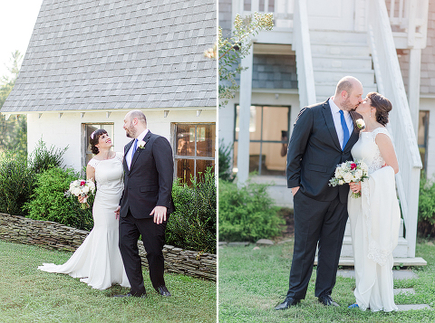 Red, White, and Blue English-American Barn Wedding at 48 Fields Farm in Leesburg, VA | Lindsay and Dan