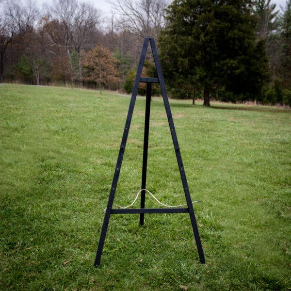rustic-black-wood-easel-48-fields-leesburg-va