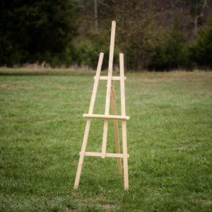rustic-light-wood-easel-48-fields-leesburg-va