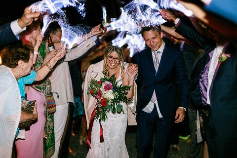 LED fiber optic glow wand wedding sendoff