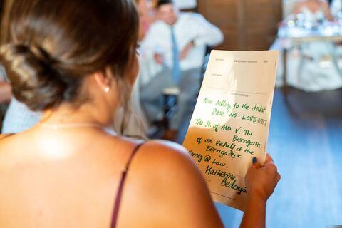 bridesmaid maid of honor speech - 48 Fields Wedding Barn | Leesburg VA