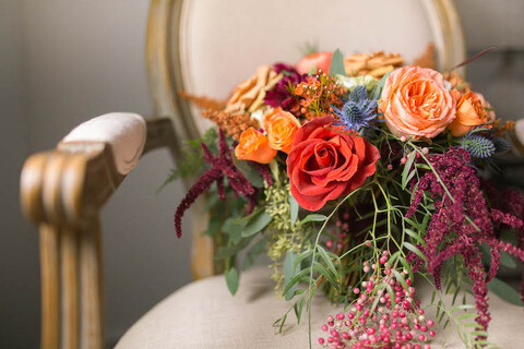 fall autumn bride bouquet - 48 Fields Wedding Barn   Leesburg VA
