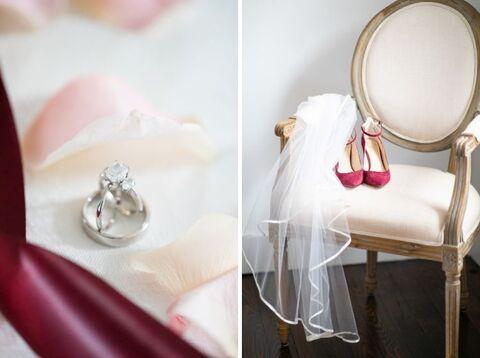 bride getting ready details - 48 Fields Wedding Barn | Northern VA
