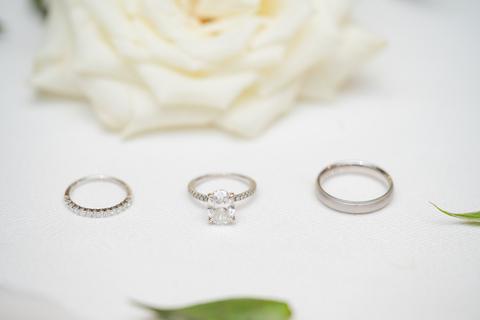 wedding rings - 48 Fields Wedding Barn | Northern VA