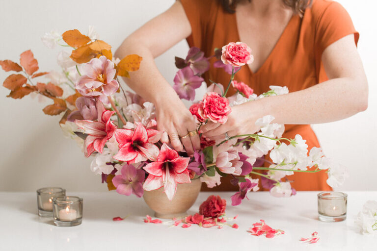 what not to do the week before your wedding DIY projects