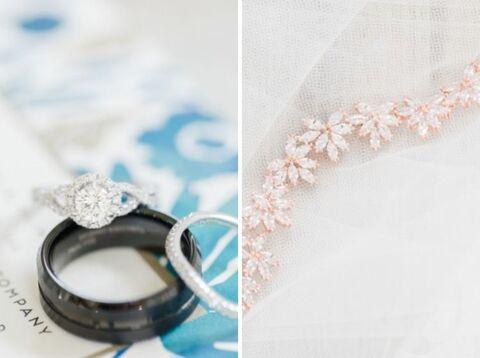 jewelry close up - 48 Fields Wedding Barn   Leesburg VA