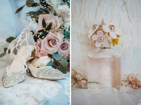 bride details spring wedding - 48 Fields Wedding Barn   Leesburg VA