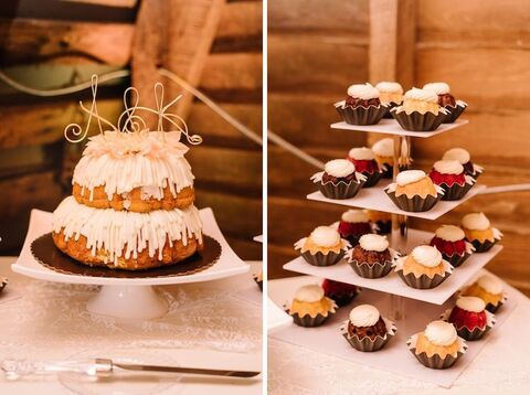 wedding bundt cake - 48 Fields Wedding Barn | Leesburg VA
