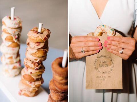 wedding donuts - 48 Fields Wedding Barn | Leesburg VA