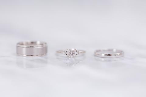 rings wedding day getting ready details - 48 Fields Wedding Barn   Leesburg VA