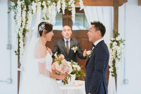 indoor ceremony - 48 Fields Wedding Barn | Leesburg VA