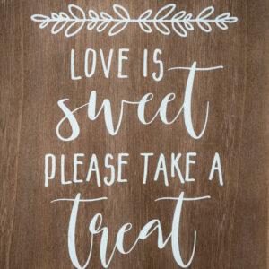rustic-wood-love-is-sweet-take-a-treat-sign-48-fields-leesburg-va